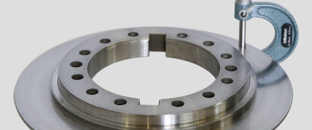 Brake disk axis A