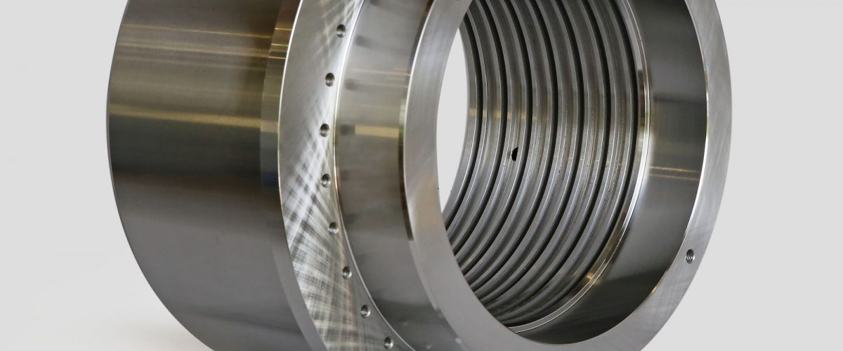 Bearing support flange
